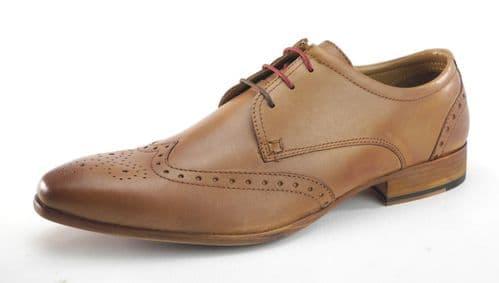 Frank James Clapham Tan Shoes